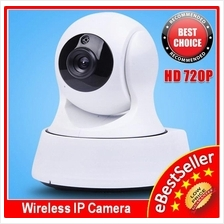 Wide Angle 1280*720P HD CCTV Wireless IP Camera Motion Alarm + IR
