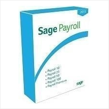 Sage UBS Payroll Premium Unlimited Employees Software - SINGLE USER