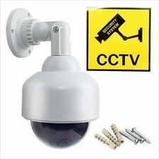 Gift + Fake Dummy Speed Dome CCTV Camera With LED Blinking Light