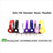 Monster Solo Hd Headset Music Phone earphone