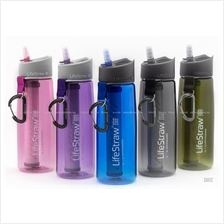LifeStraw GO 2 Stage Filtration Instant Portable Water Bottle Filter