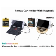 Remax Car Holder Phone Pad With Magnetic Absorption Charging Port