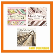 40 Pages 12'x12' Designer Paper - Zakka/Photobook DIY