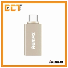 Genuine REMAX OTG TYPE-C To USB 3.0 Adapter RA-OTG1 (For Android)-Gold