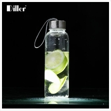 Diller Eco-friendly Glass Water Bottle 500ML