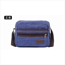 CV43 Multi Compartment Canvas Bag/Casual Sling Bag