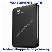 WD Elements External/Portable Hard Disk - 1TB