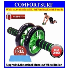 Upgraded 2 Wheels Ab Roller Abdominal Muscle AB Fitness Gym Strength
