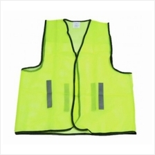 SAFETY VEST GREEN ECONOMIC (10/200)