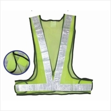 716#G SAFETY VEST TRIANGLE GREEN (100)