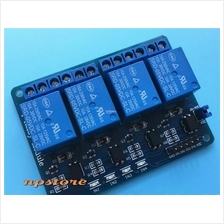 4-Channel Relay Module Shield for Arduino