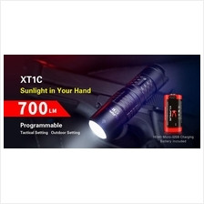 Klarus XT1C Utilizes Cree XP-L HI V3 LED Flashlight - 700 Lumens