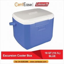 Coleman 16 QT (15.1L) Excursion Cooler Box- Blue (3000001832)