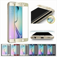 Samsung S6 S7 Edge Plus + Note 5 Full Cover 9H Tempered Glass Colors