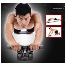 New 4 Wheels Ab Roller Abdominal AB Fitness Wheel Support 400KG