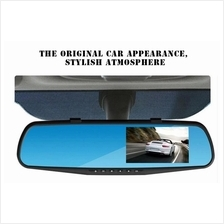 1080P Car Dvr Camera Night Vision 4.3 Inch Rearview Mirror Recorder