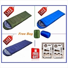 3 Free Gift + Portable and Water Resistant Sleeping Bag for Camping
