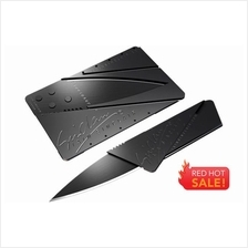 Creative Portable Wallet Camping Card Safety Folding Knife Sharp Blade