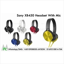 Sony High quality XB450 3.5mm Headband Headphones Headsets earphone