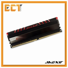 Avexir 8GB DDR4 2400MHz Desktop PC Gaming RAM with Red LED (PC4-19200)