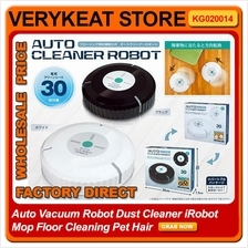 Auto Vacuum Robot Dust Cleaner iRobot Mop Floor Cleaning Pet Hair