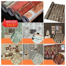 11 Design Imitation brick 3D Self Adhesive PVC Waterproof Wallpaper