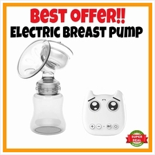 OFFER PRICE Electric Breast Pump Baby Feeding Pump Milk Mom Baby Care