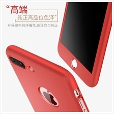 APPLE IPHONE 7 & 7 PLUS 360 FULL Protection FREE Tempered Glass CASE