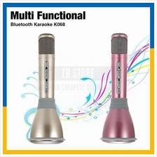 ZeeBe K068 Wireless Bluetooth Microphone Speaker Condenser Mini KTV