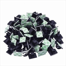 100 Pieces Adhesive Cable Clips Drop Clamp Cable Tie Holder