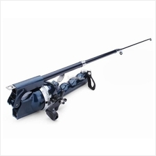 Folding Telescopic Sea Rods Suit Portable Fishing Poles With Fishing
