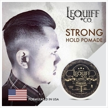 Lequiff & Co Strong Hold Water Based Hair Pomade Formulated USA -100gm