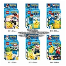 Lego Compatible KSZ 314 Pokemon Minifigure with Free Pikachu