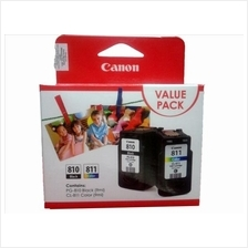 GENUINE CANON PG-810 + CL-811 COMBO VALUE PACK INK CARTRIDGE