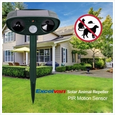Cat Dog Animal Deterrent Ultra Sonic Garden Pest Repeller Solar Power