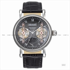 INGERSOLL IN3109GY Automatic Laval Dual Balance M-Grey Leather LE