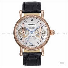 INGERSOLL IN3109RSL Automatic Laval Dual Balance M-Grey Leather LE