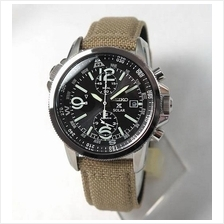 SEIKO SSC293P1 SSC293 Prospex Solar Powered Chronograph Military Watch
