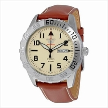 SEIKO 5 SPORTS SRP757J1 SRP757 AUTOMATIC CREAM DIAL MENS WATCH