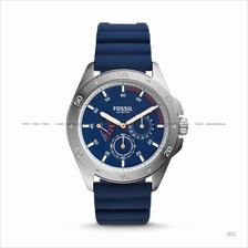 FOSSIL CH3062 Men's Sport 54 Multifunction Silicone Strap Blue