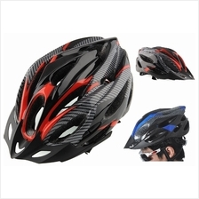 ADULT BICYCLE HELMET WITH HEAD LOCK  & VISOR SAFETY BREATHER DURABILIT