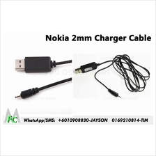 2mm Small Pin USB Charger Cable Adapter Cord for Nokia CA-100C Phone