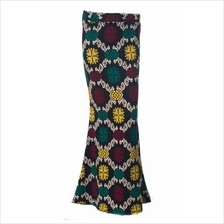 Saferina In Songket Sarawak Motifs Duyung Skirt - BOWH-220