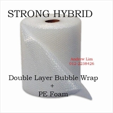 Bubble Wrap Double Layer Hybrid  Strong Lami PE Foam *Free Shipping