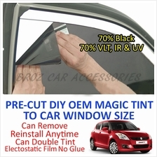 Suzuki Swift 2008-2012 Magic Tinted Solar Window (4 Window & Rear) 70%