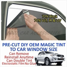 Toyota Hilux Vigo Magic Tinted Solar Window (4 Windows & Rear) 70%