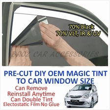 Perodua Viva Magic Tinted Solar Window (4 Windows & Rear) 70% Black