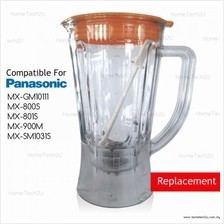 Blender Jug Compatible For Panasonic MX-SM1031 MX-GM10111 MX-800S