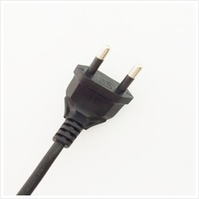 2 PIN AC Power Adapter Cable Cord For Playstation 2/3