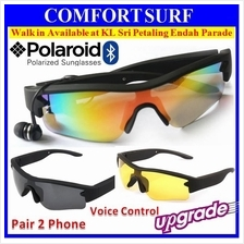 NEW Wireless Bluetooth 4.0 Polarized Sunglassess Pair 2x Phone Shutter